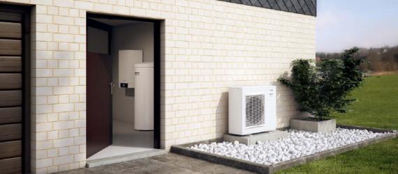 Split sistem toplotne črpalke